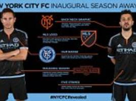 New York City FC unveil new away strip ahead of next year's MLS season
