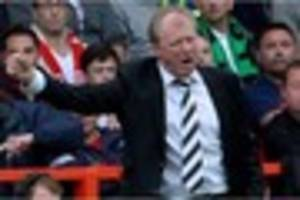 derby county: steve mcclaren says attitude of players on bench...